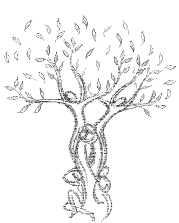 Parma dolce un albero prende vita for Albero della vita da stampare e colorare